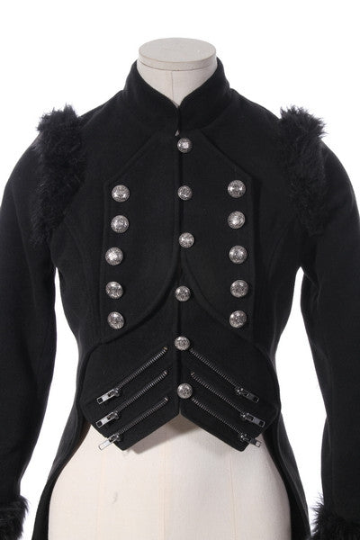 21190 Military Breasted Coat with Tails