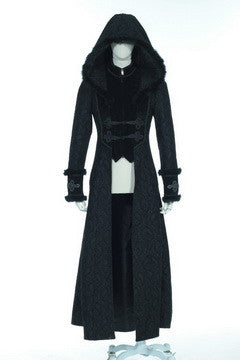 21230 Hooded Gothic Coat