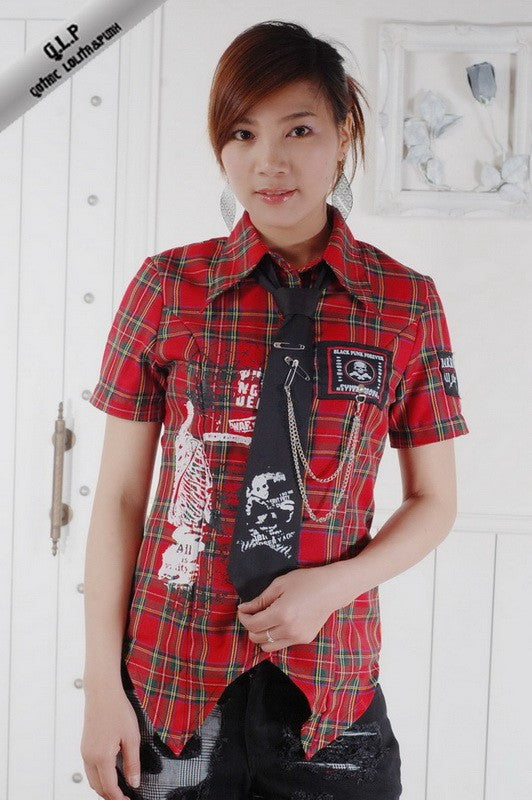 71171 J-rock Shirt with Tie