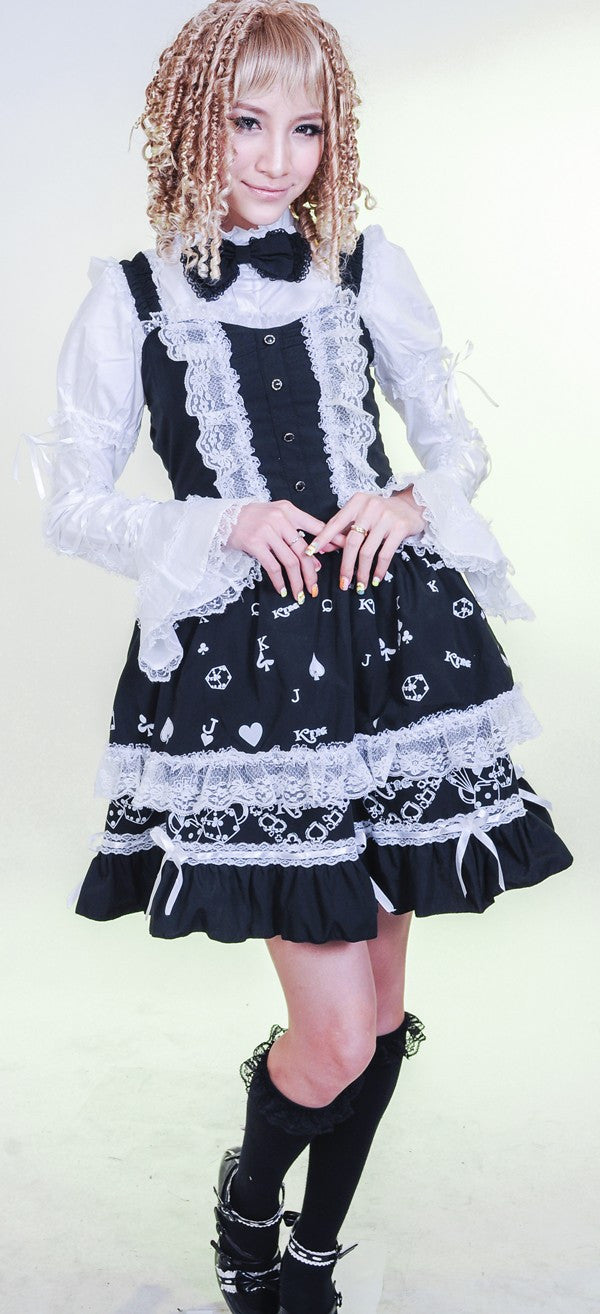 81099 Casino Lolita Dress with Shirt