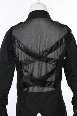 91022 Guy's Bondage Mesh Shirt