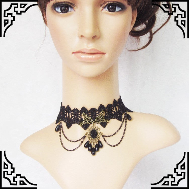 GY033 Black Tears Choker