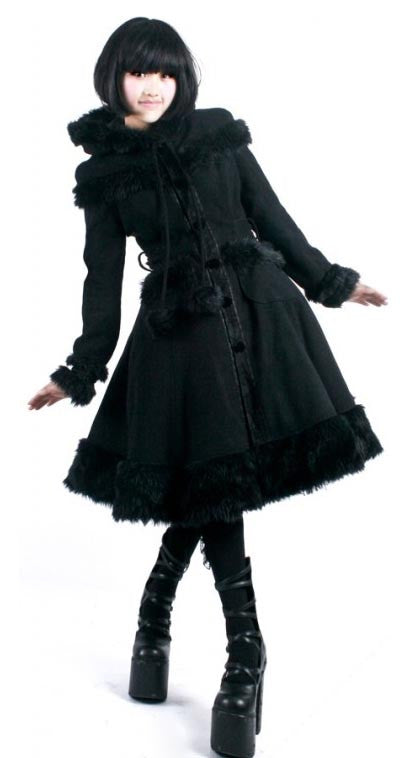 LY-024 Lolita Hooded Coat