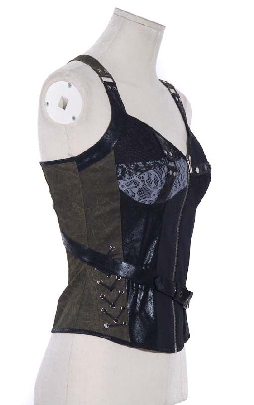SP018 Wasteland Steampunk Corset
