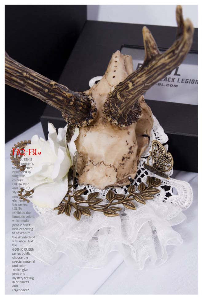 SP050 Deer Skull Headpiece