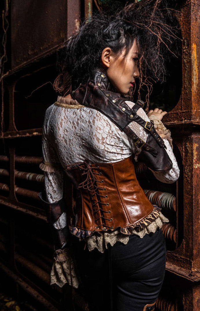 SP093 Steampunk Rivet Armor