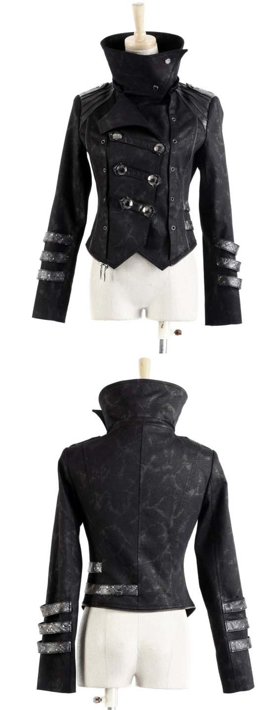 Y-364 Scorpion Coat with Hood