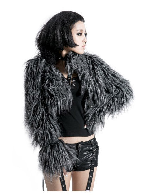 Y-416 Fur Short Coat