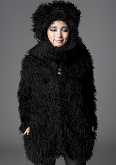 Y-432 Furry Bear Coat
