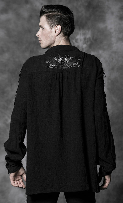 Y-464 Bat Poet Shirt