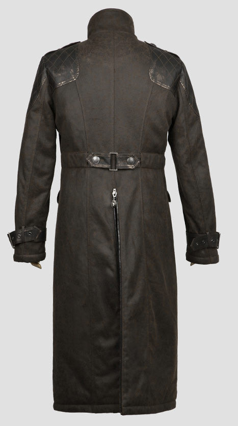 Y-480 Steampunk Trench Coat