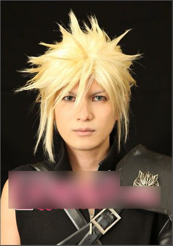 Cloud Cosplay Wig