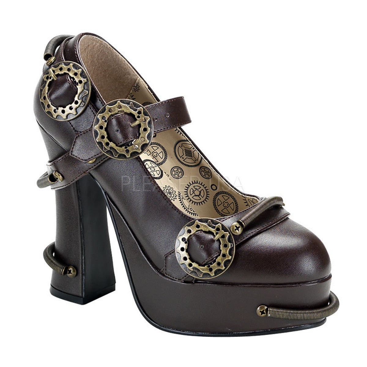 DEMON-29 Steampunk Shoes