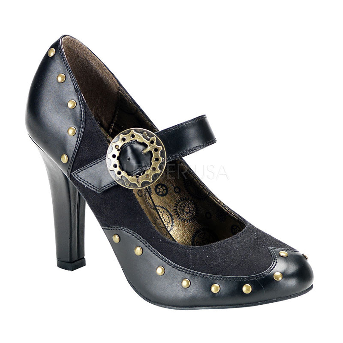 TESLA-08 Steampunk Shoes