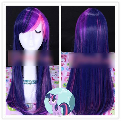 Twightlight Sparkle My Little Pony Wig