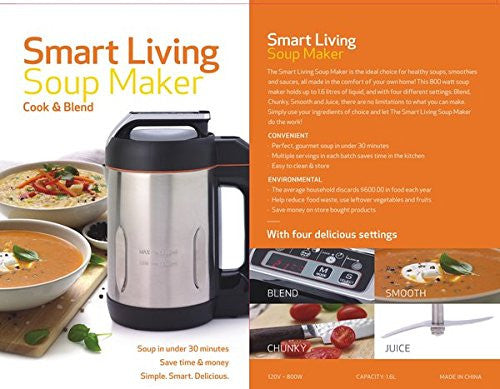 Smart Living Soup Maker - The Smart Living Store