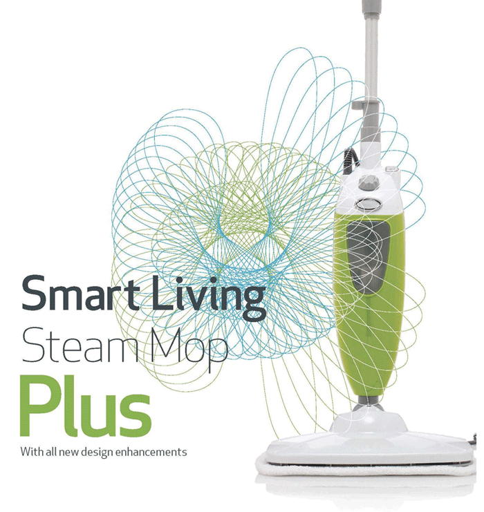 The Smart Living Store The Smart Living Steam Mop The