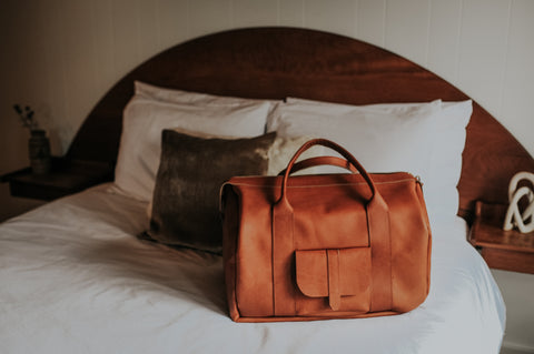 leather travel goods