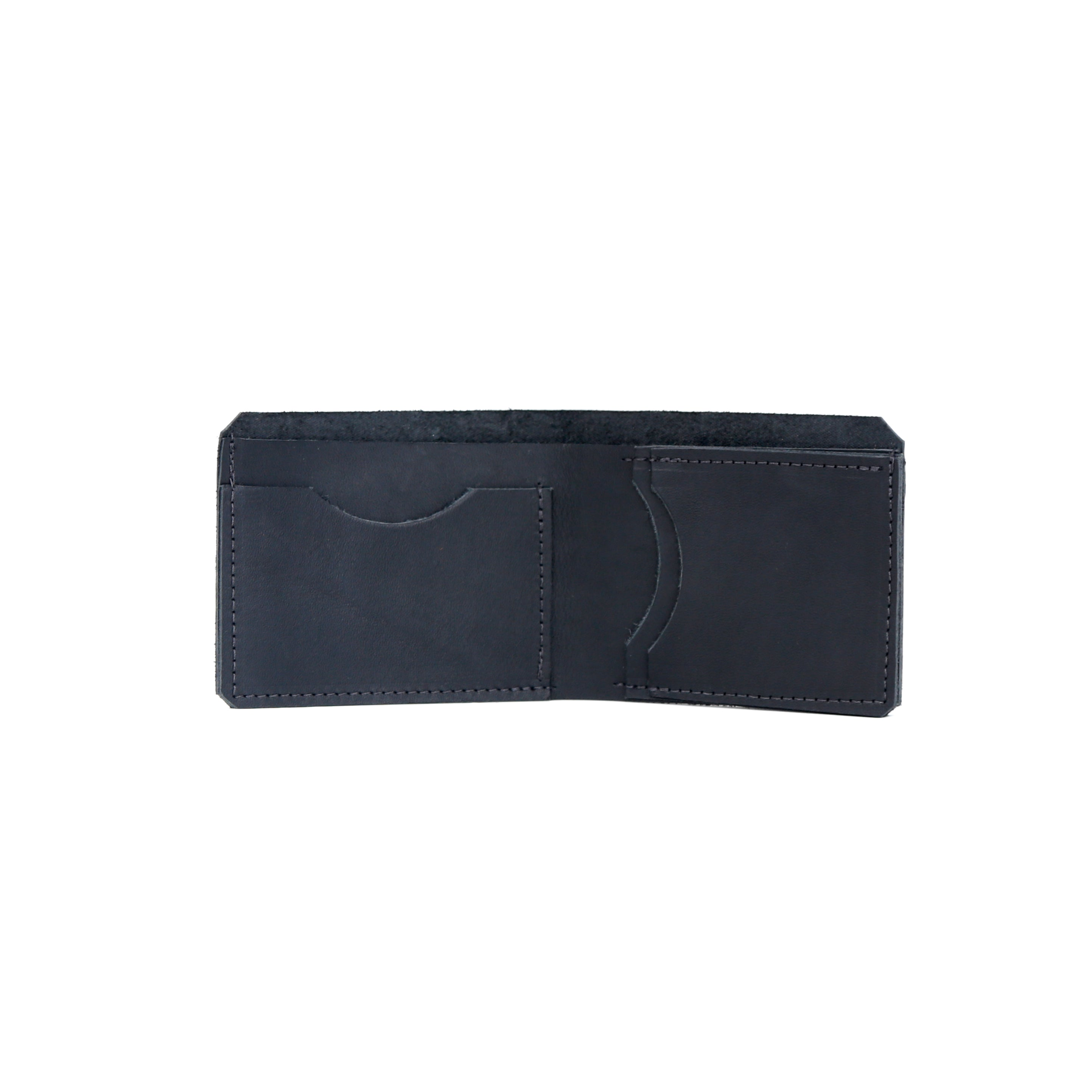 Bi fold Wallet Leather - handcrafted by Market Canvas Leather in Tofino, BC, Canada
