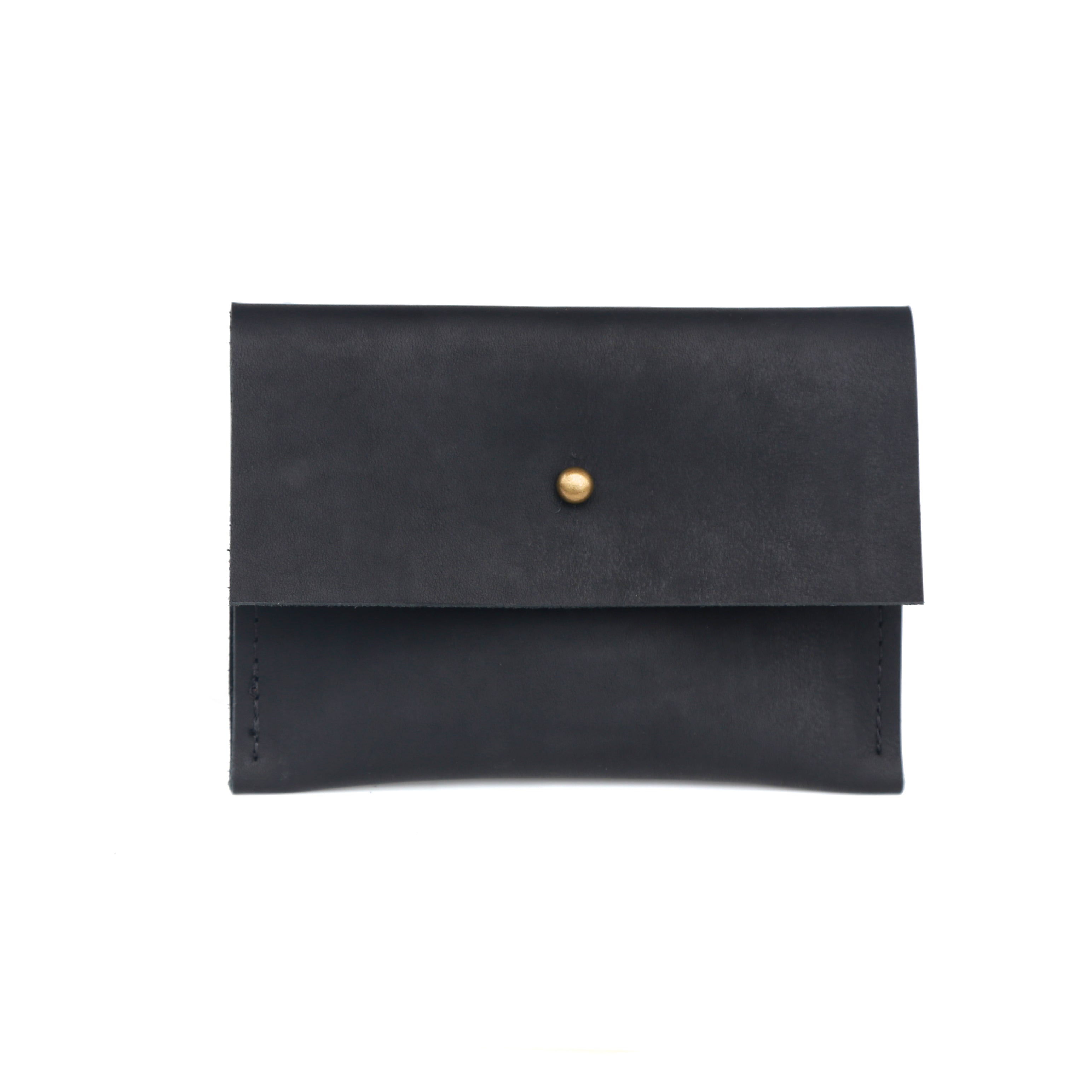 Small Clutch Leather - handcrafted by Market Canvas Leather in Tofino, BC, Canada