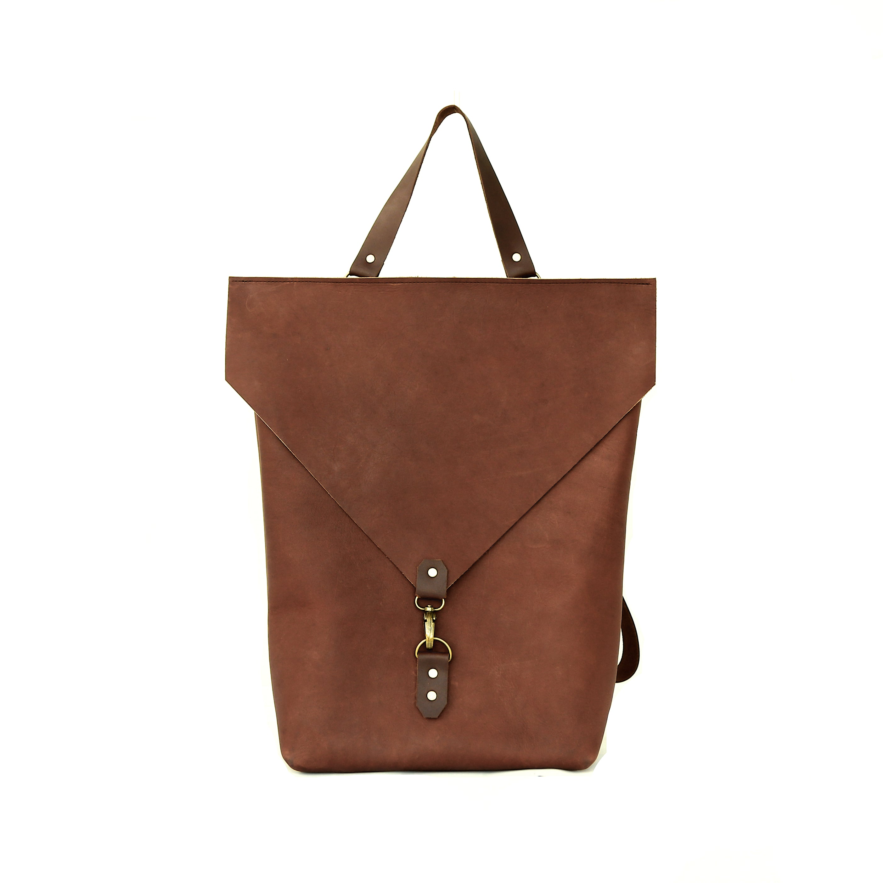 The Back Pack in Brown