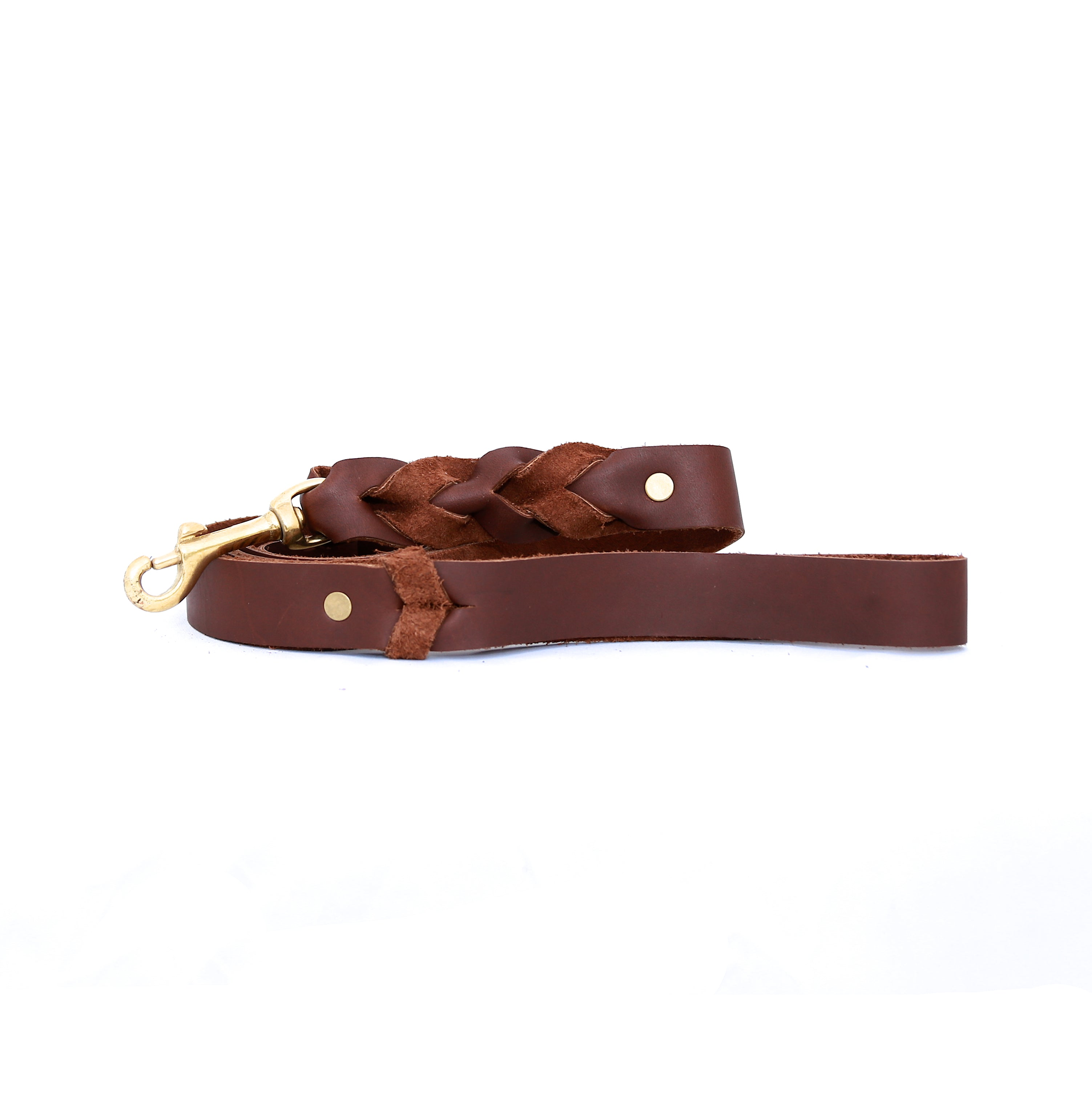 Dog Leash Leather - handcrafted by Market Canvas Leather in Tofino, BC, Canada