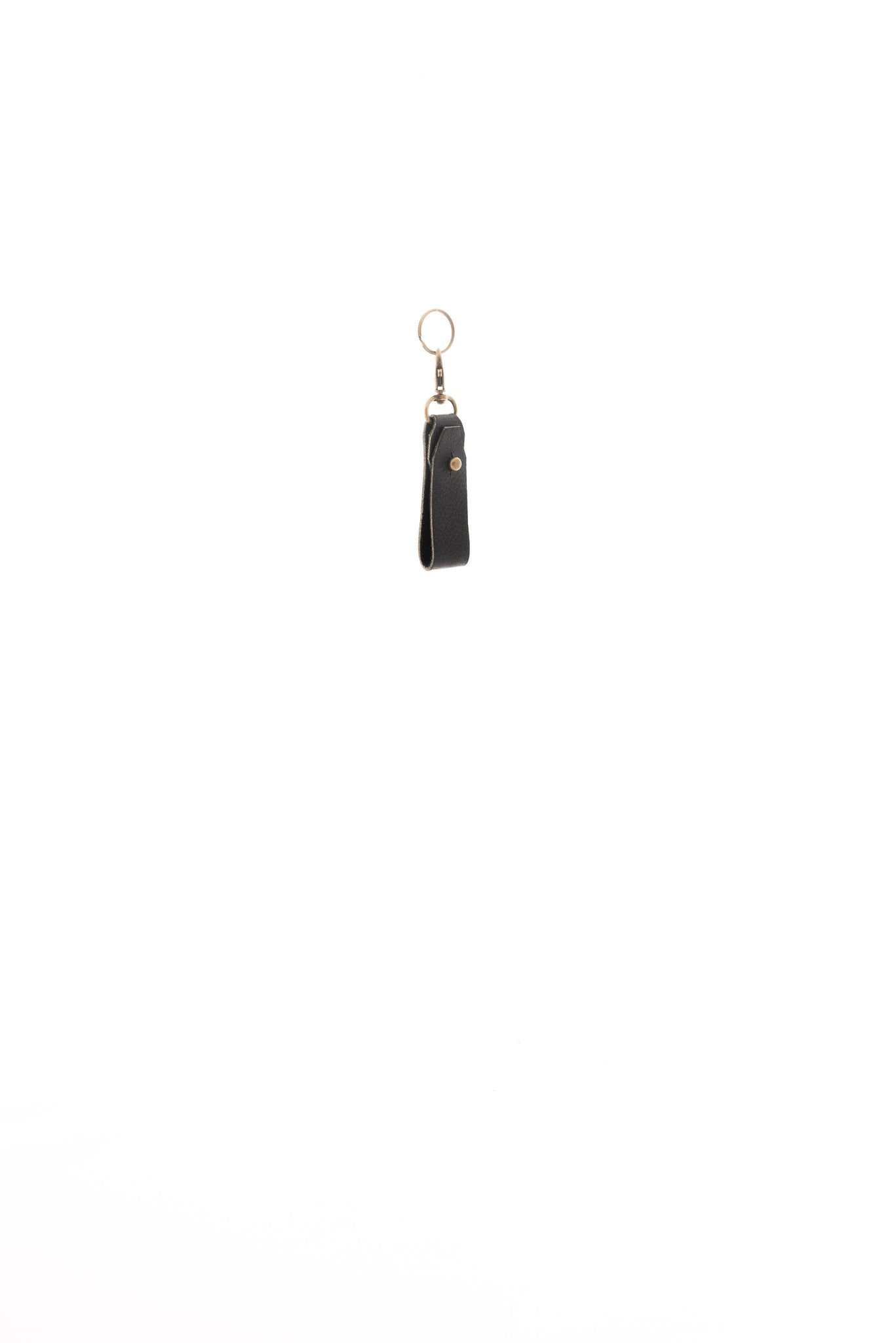 Belt Loop Key Chain Leather - handcrafted by Market Canvas Leather in Tofino, BC, Canada