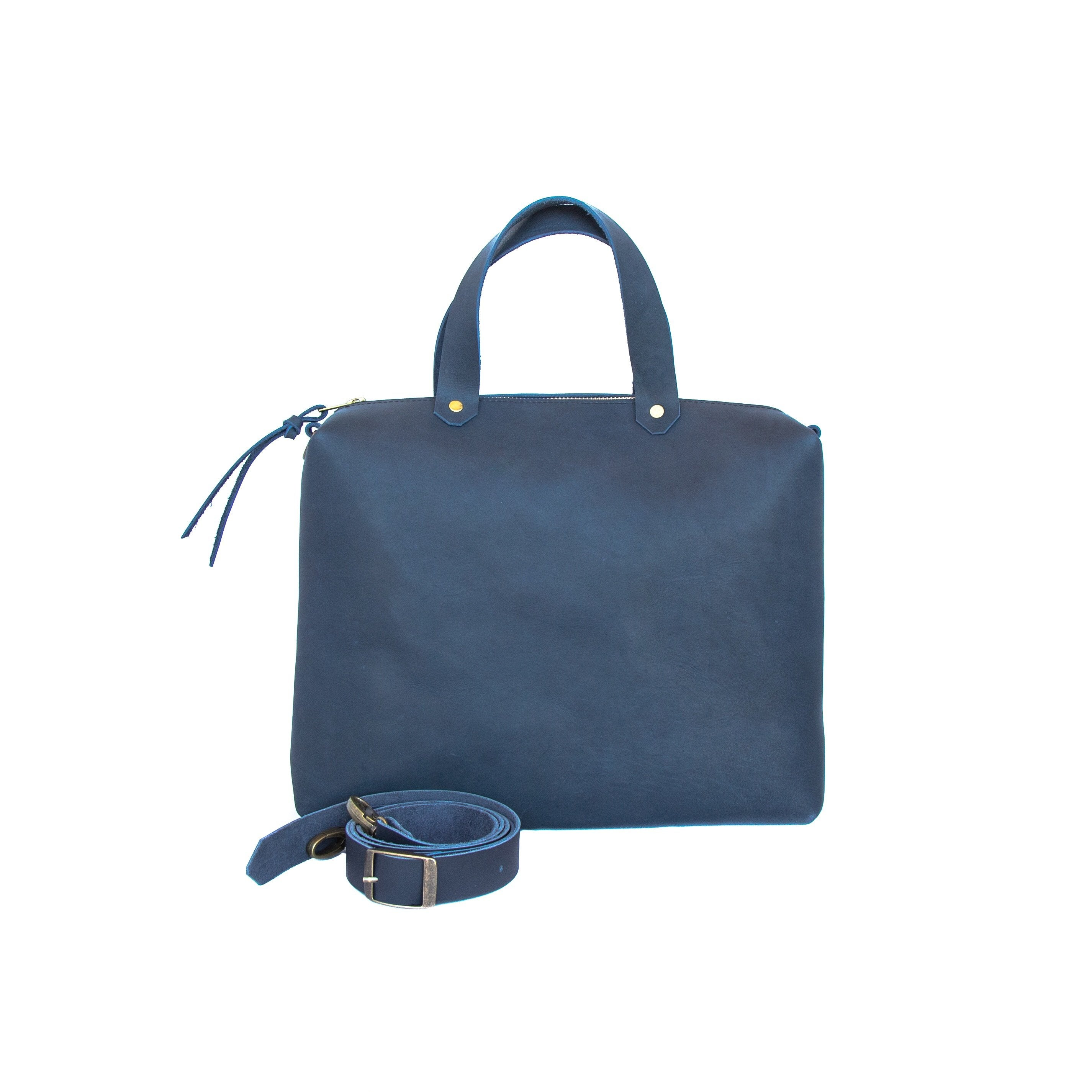 Spy Bag Leather - handcrafted by Market Canvas Leather in Tofino, BC, Canada
