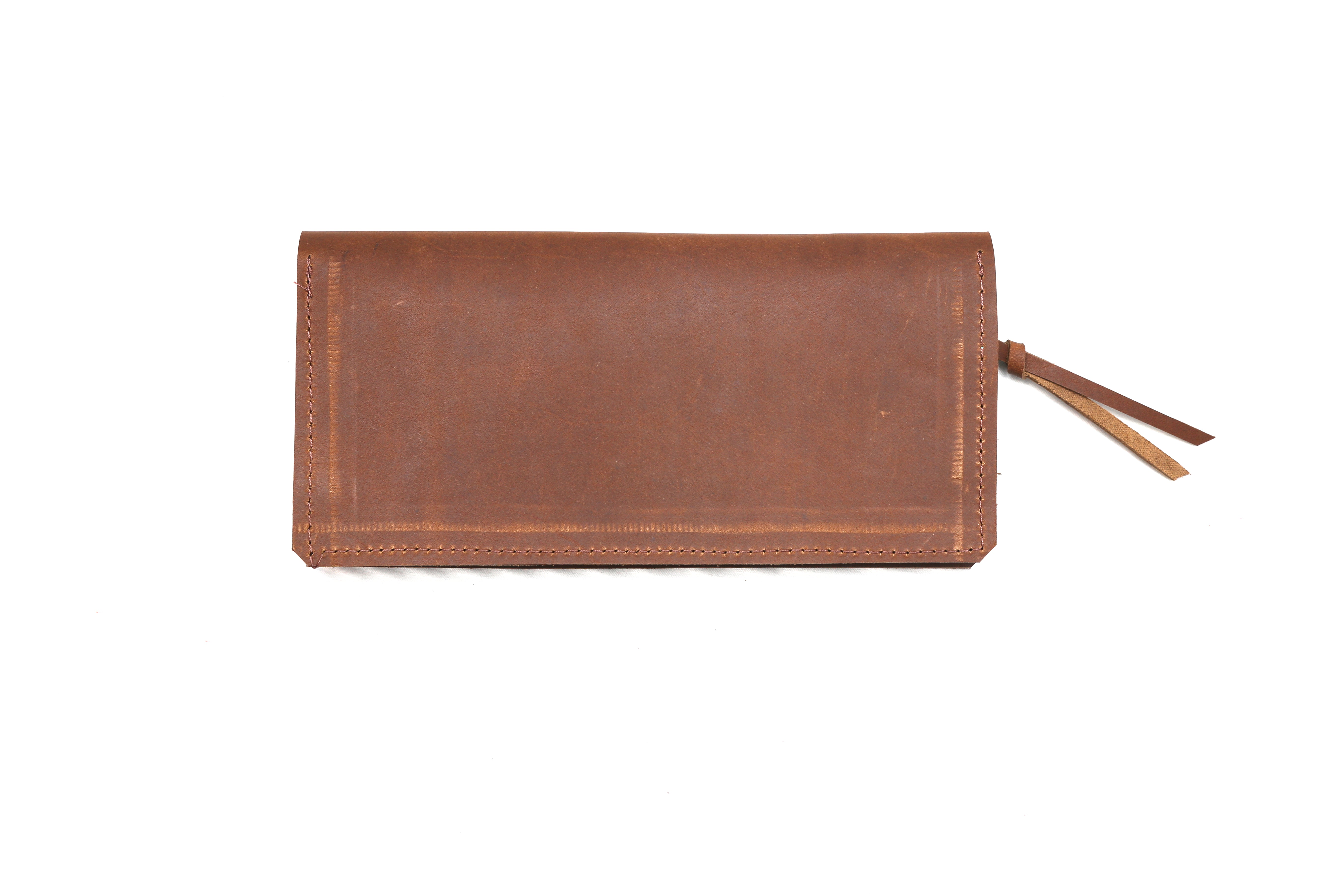 Women's Wallet in Brown Leather - handcrafted by Market Canvas Leather in Tofino, BC, Canada