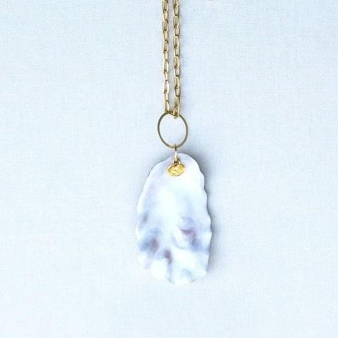 Oyster Necklace Long