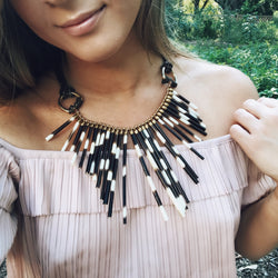 quill collar necklace