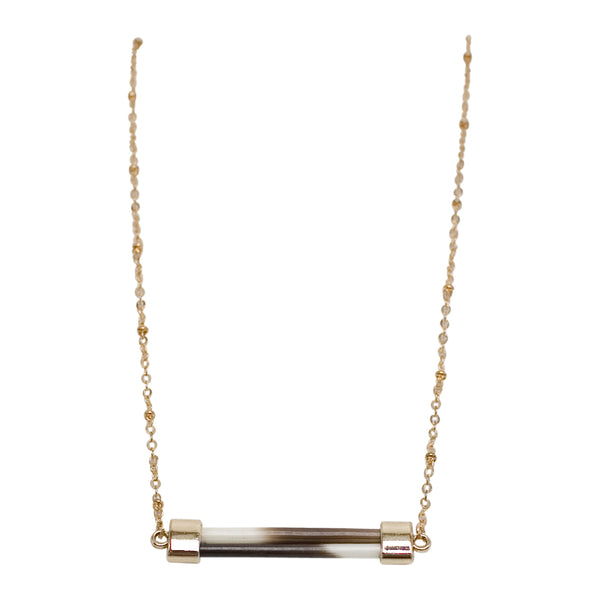 Porcupine Quill Bar Necklace