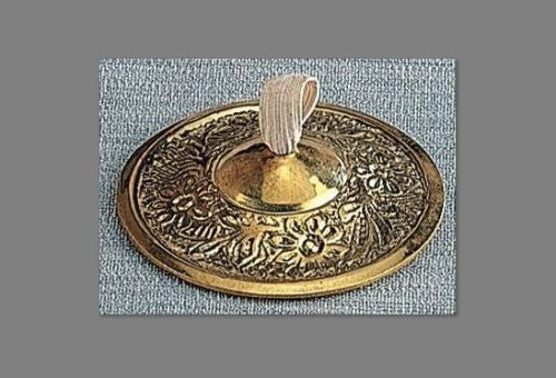 "Embossed Polished Brass Finger Cymbals Zills 2.25"" diameter for Belly Dancing - Sweet Us"