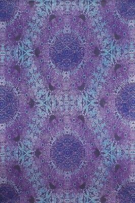 Handmade 100% Cotton 3D Psychedelic Purple Eyes Tapestry Tablecloth Spread 60x90 - Sweet Us