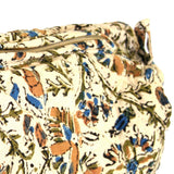 Handmade Cotton Kalamkari Block Print Shopping Work Tote Accessory bag 8x6