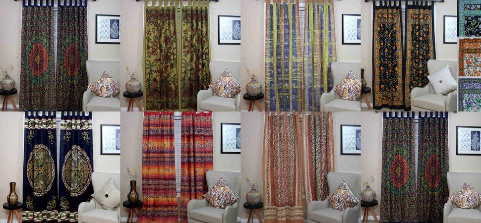 Handmade Cotton Curtains