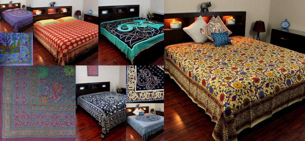Handmade Cotton Tapestries Bedspreads