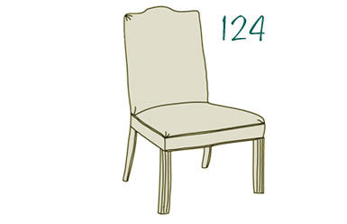 124 Dining Chair
