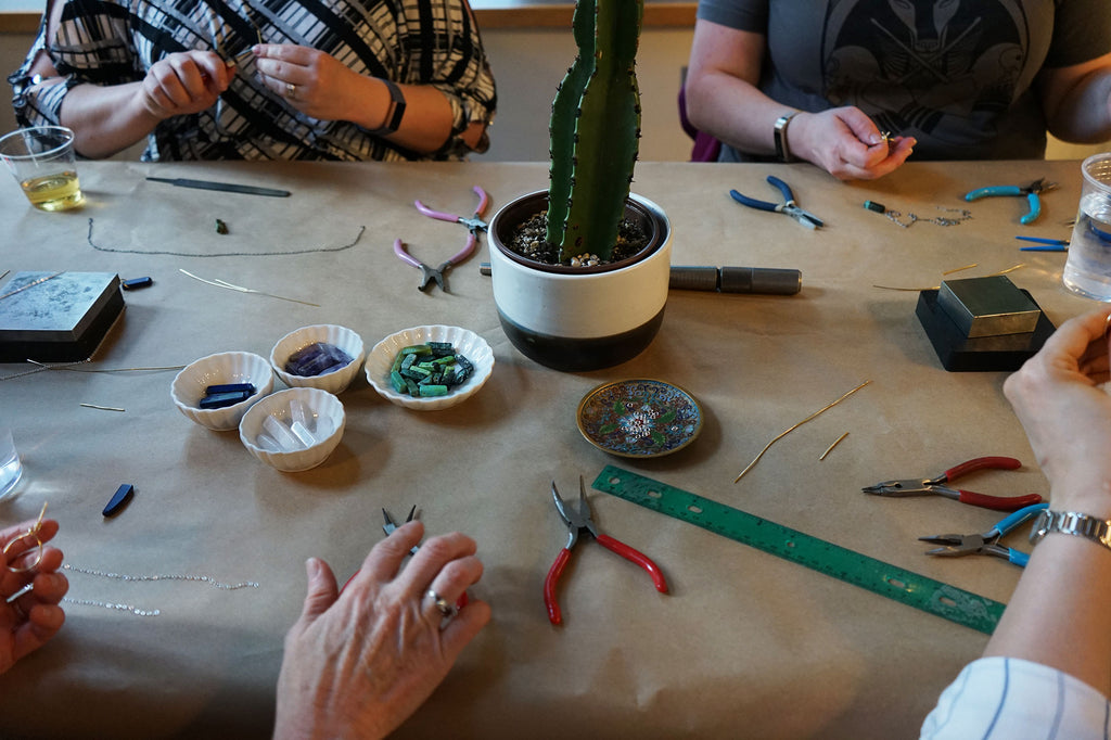 Make a Personal Necklace Workshop with Julie Cooper