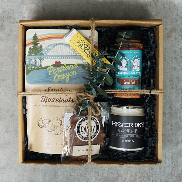 Locally Made Portland Gift Box Made Here Local Goods Corporate Gifting
