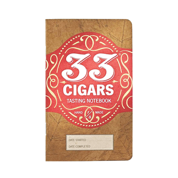 33 Cigars Tasting Journal by 33 Books Co.