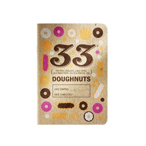 33 Doughnuts Tasting Journal by 33 Books Co.