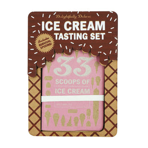 Deluxe Ice Cream Tasting Set by 33 Books Co.