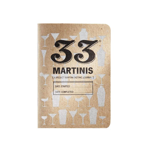 33 Martinis Tasting Journal by 33 Books Co.