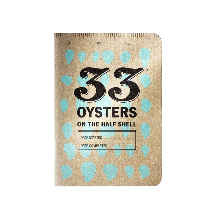33 Oysters on the Half Shell Tasting Journal by 33 Books Co.