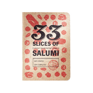 33 Books Salumi Tasting Journal