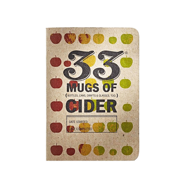 33 Mugs of Cider Tasting Journal by 33 Books Co.