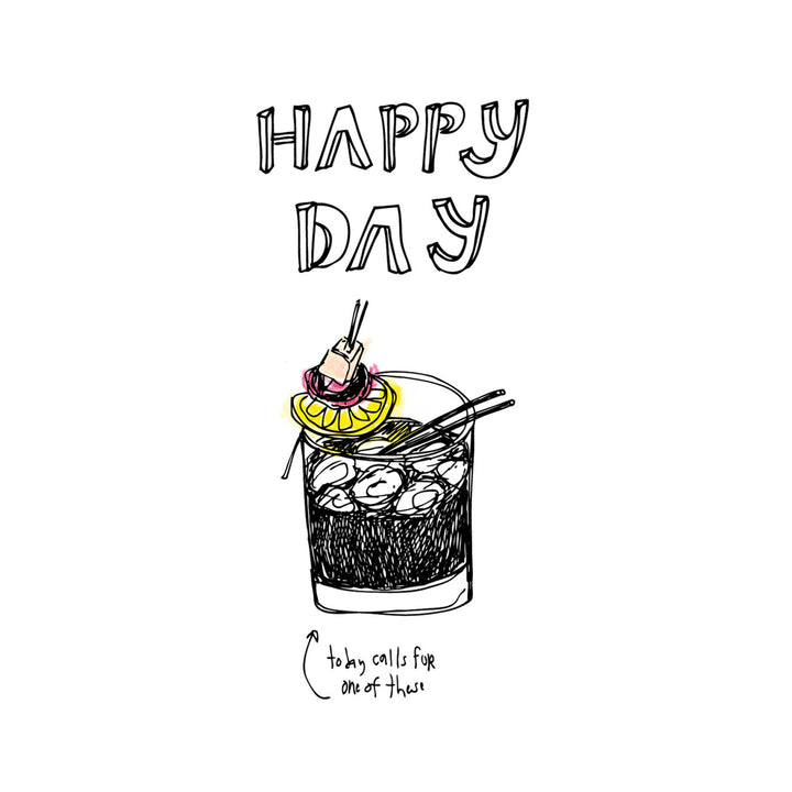 Happy Day Card by ARTjaden