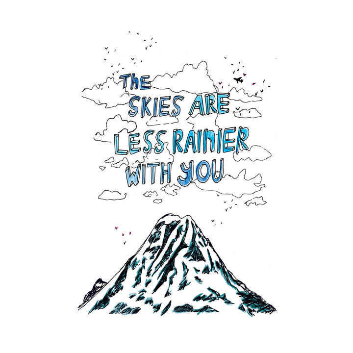 Less Rainier Card by ARTjaden