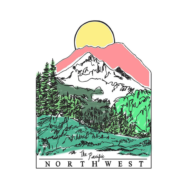 The Pacific Northwest Card ARTjaden